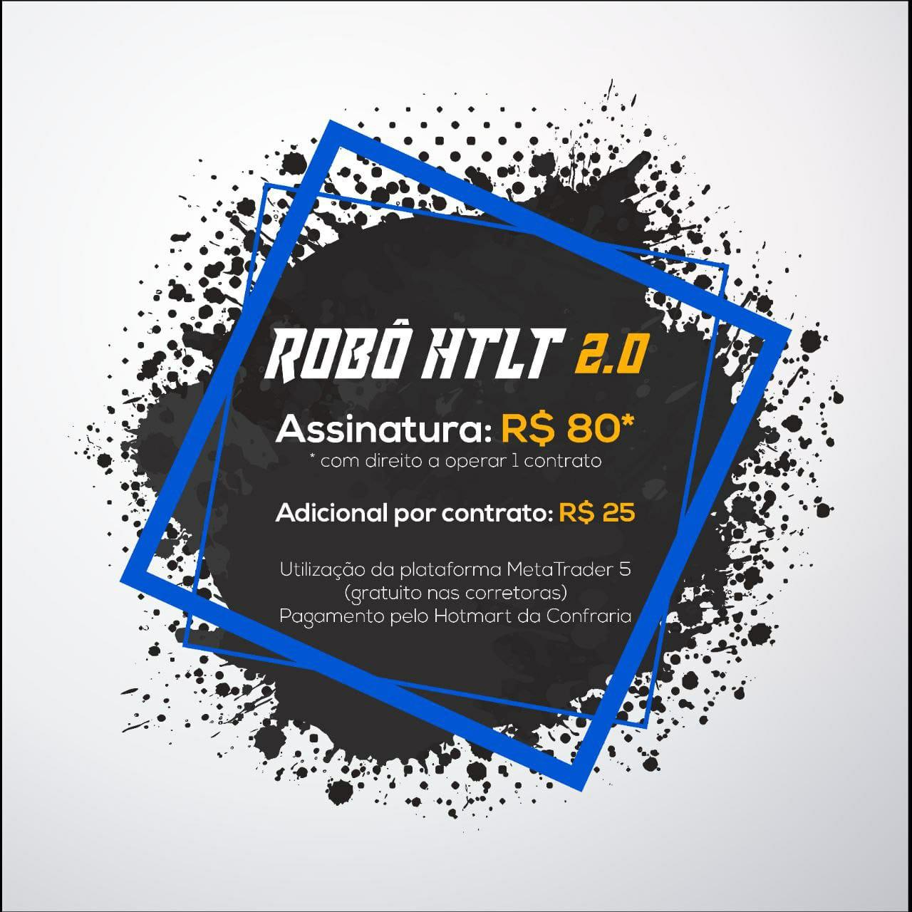 robô de trader