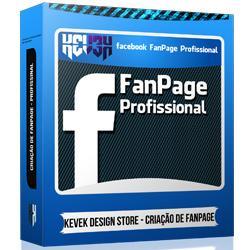 Kevek Design - Facebook Fan Page Profissional